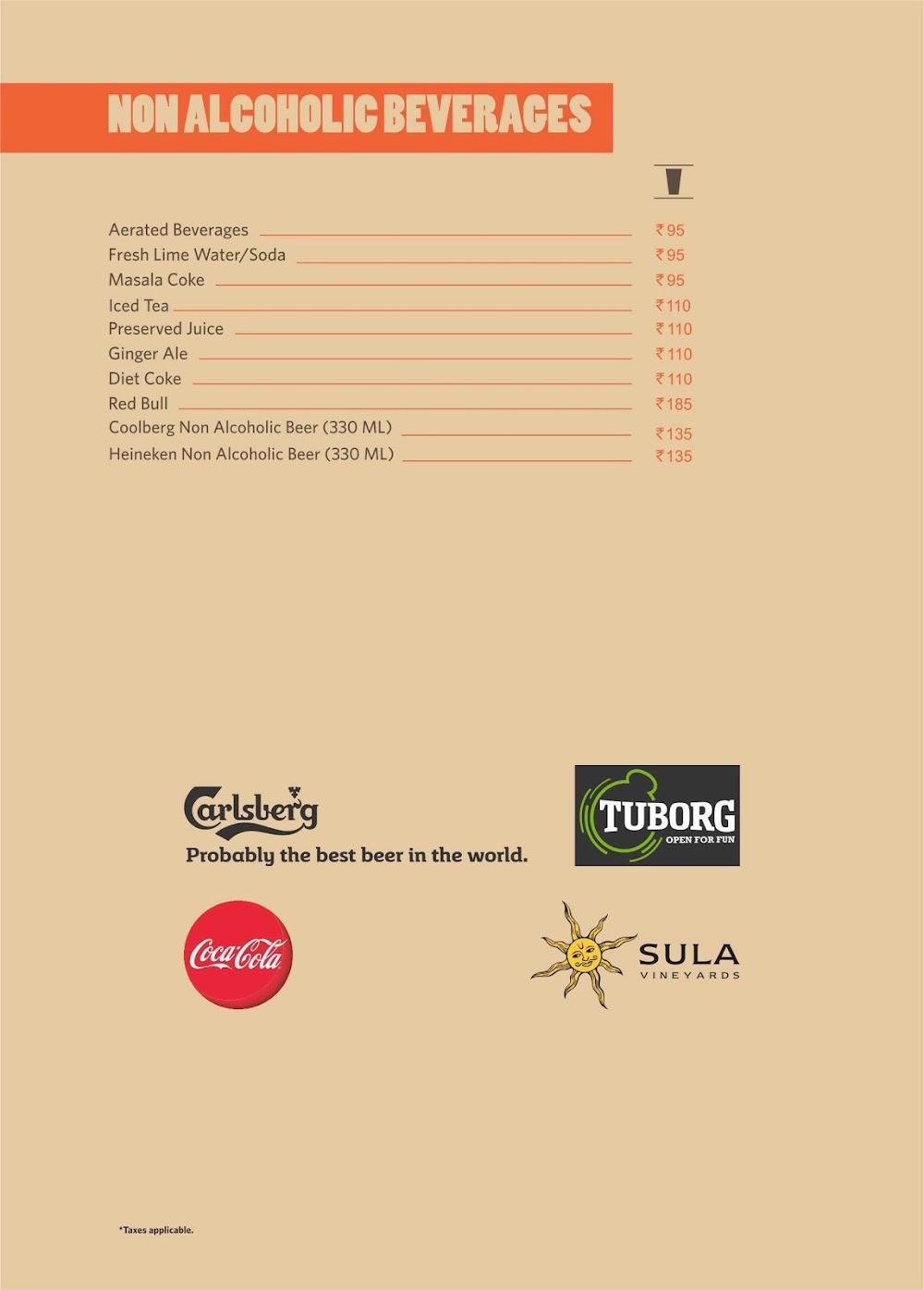 Barbeque Nation menu 9