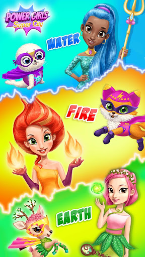Power Girls Super City - Superhero Salon & Pets apktram screenshots 2
