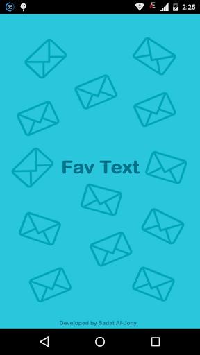 Fav Text