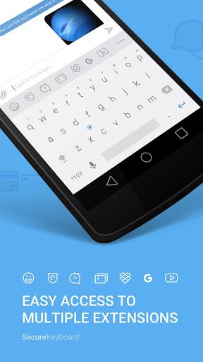 Hotspot Shield Secure Keyboard screenshot 1