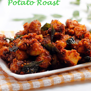 How to make Spicy Potato Roast | Urulai Varuval | Spicy Aloo Roast | Side Dish for Rice | Potato Recipes