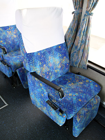 西鉄高速バス「桜島号」 6019 シート