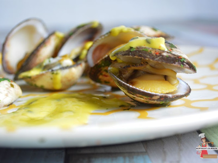 Dog Cockles with Passion Fruit Vinaigrette Recipe