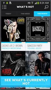 DatPiff - Free Mixtapes- screenshot thumbnail