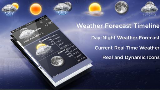 天氣預報 - 時間線
