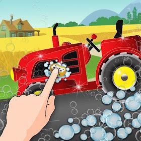 Мытье Сельскохозяйственный тра