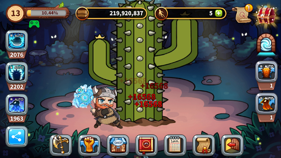 Tap Tap Axe™ - Chopping Lumberjack Idle Clicker Screenshot