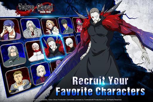Tokyo Ghoul: Dark War 1.2.2 screenshots 2