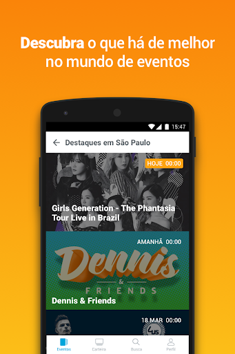 Ingresse - Ingressos e Eventos 3.2.3 Screenshots 2