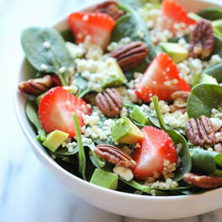 Strawberry Quinoa Salad with Balsamic Vinaigrette
