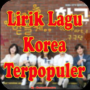Lirik Lagu Korea Terpopuler Terbaru - náhled
