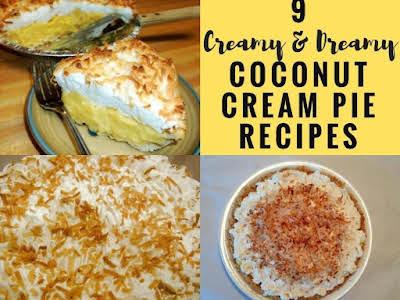 9 Creamy & Dreamy Coconut Cream Pie Recipes