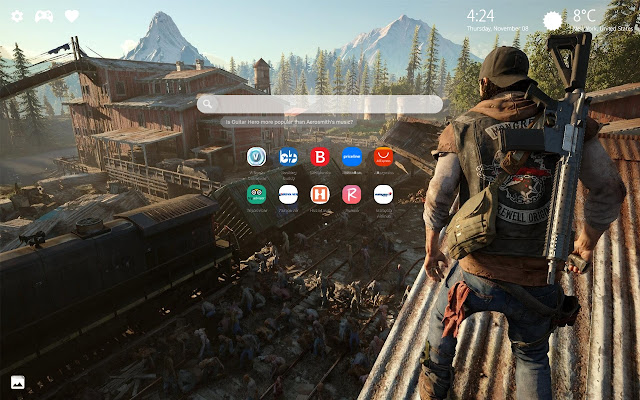 Days Gone Wallpapers Collection New Tab