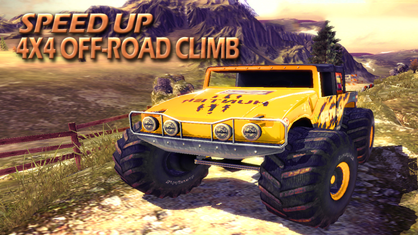 android Speed up: 4×4 off-road climb Screenshot 0