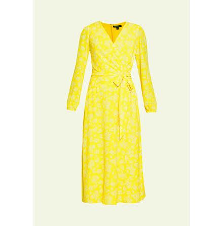 Franny Dress, true marigold/colonial cream