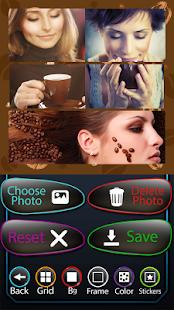 Kávová fotografická koláž - náhled