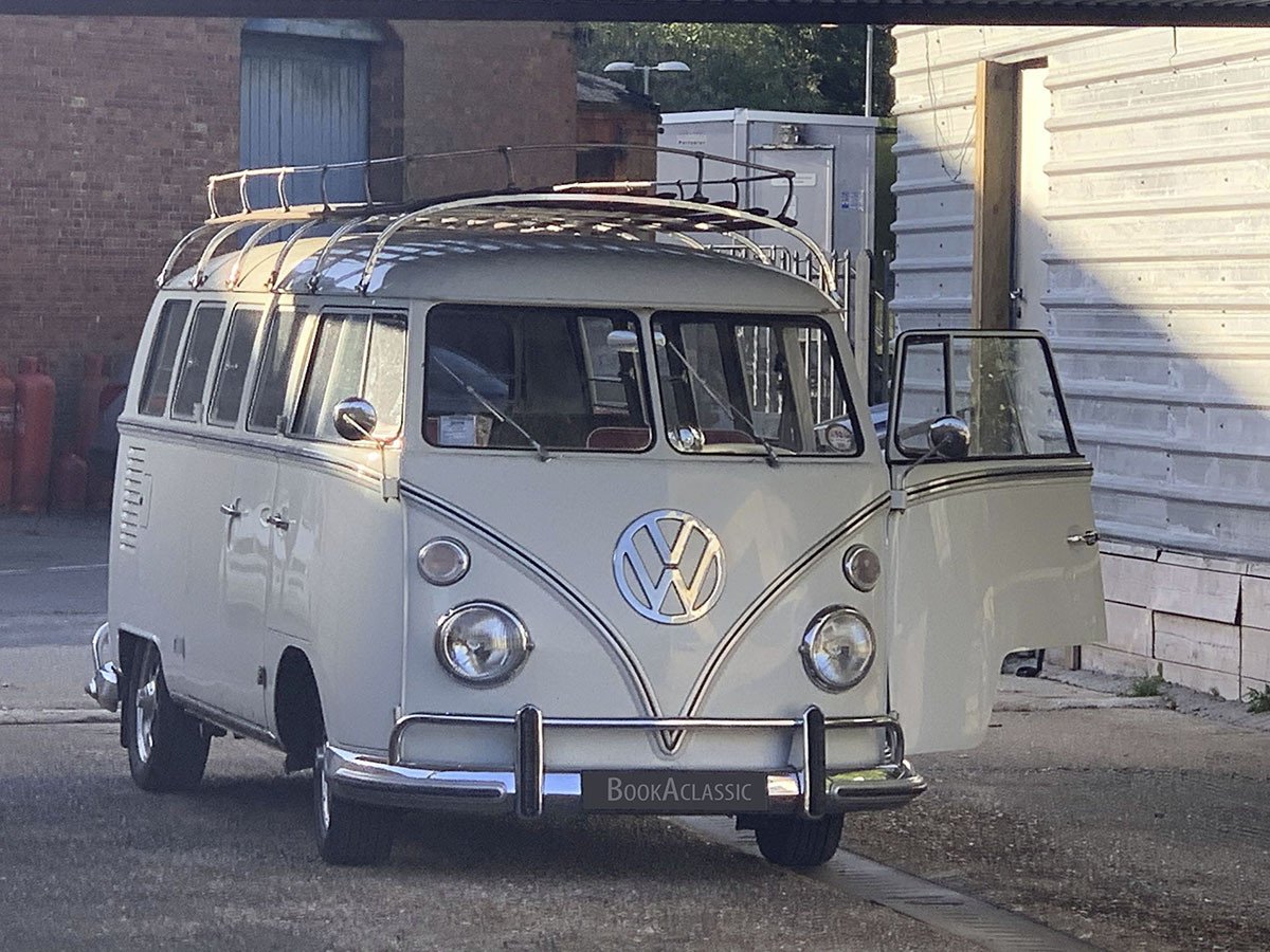 Volkswagen Split Screen Camper Van Hire Winchester