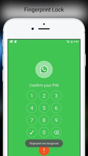 Fingerprint Pattern App Lock 3.952 screenshots 8