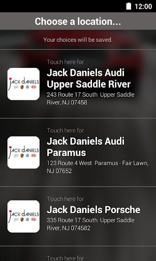 Jack Daniels Motors DealerApp