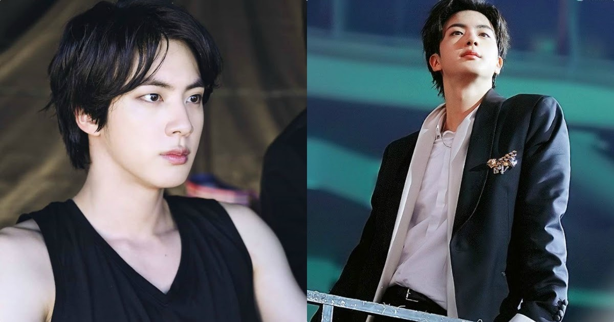 Here S 15 Photos Of Worldwide Handsome Bts Jin S Sexy Mullet Koreaboo