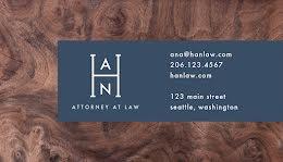 Hernandez Attorney - Business Card item
