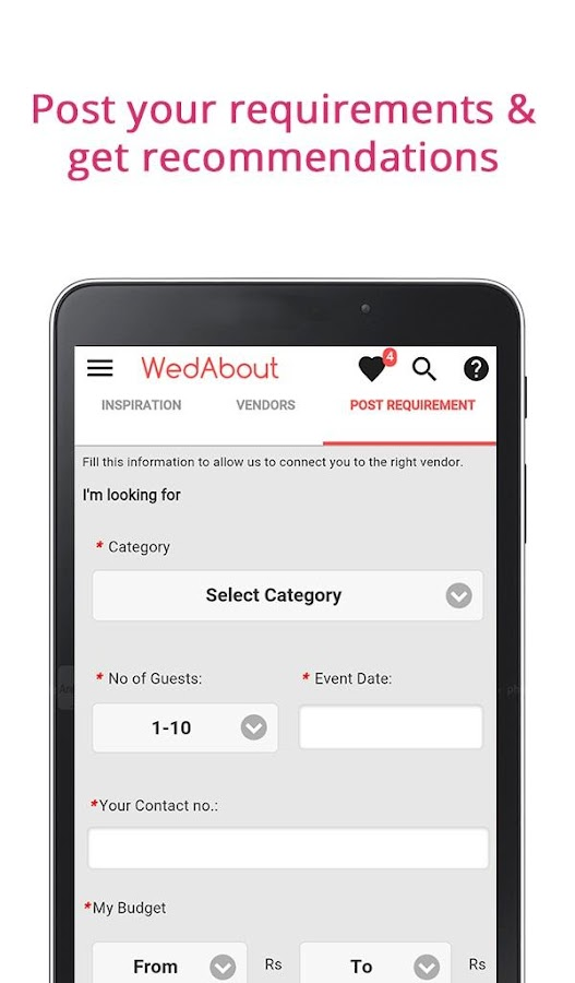 indian wedding planner apps wedding ideas