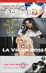 Lady Gaga Ringtones for PC-Windows 7,8,10 and Mac apk screenshot 8