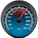 GPS Tachimetro in mph o kph icon