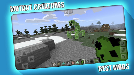MUTANT CREATURES MOD MCPE screenshots 5
