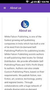 White Falcon Publishing- screenshot thumbnail