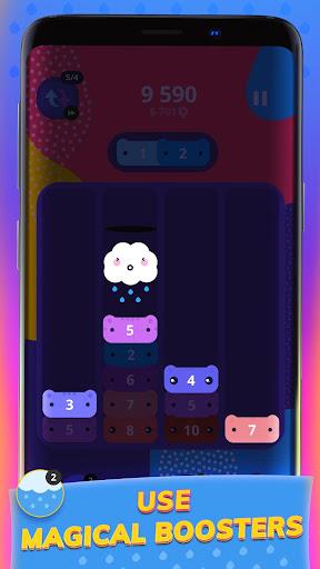 CATRIS - Merge Cat | Kitty Merging Game apkpoly screenshots 3