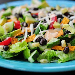 Black Bean Mexican Salad.
