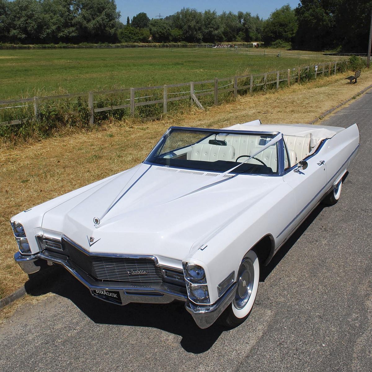 Cadillac De Ville Convertible Hire Cambridge