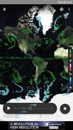 Storm Radar: mapa climático screenshot 2