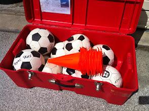 Photo: Soccer balls TSD