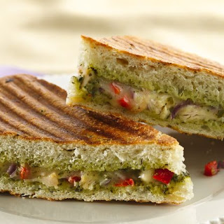 Chicken Pesto Panini.