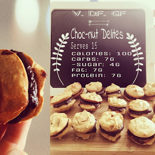 Healthy chocolate whoopie cookies DF GF