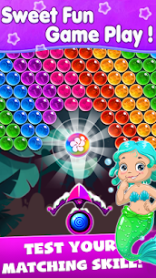 New Bubble Shooter – Mermaid  Bubble 3