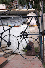 Photo: bicycle sculpture
