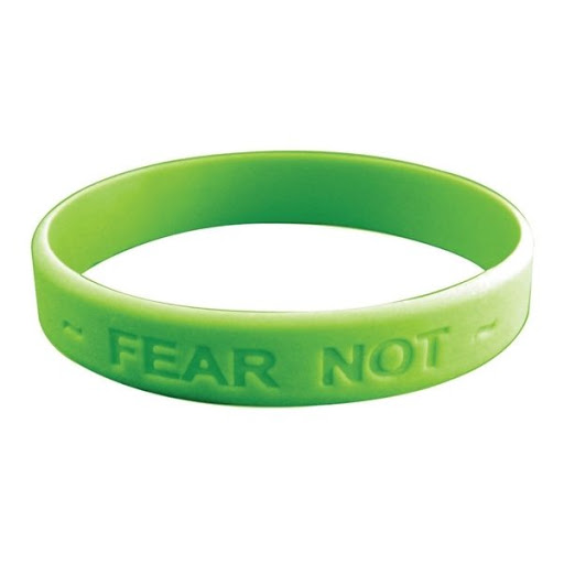 Silicone Wristbands for Printing or Debossing - Green