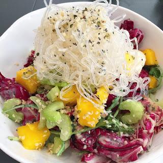 Kelp Noodles Asian Salad.