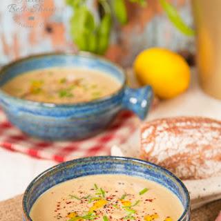 Butternut Squash, Tahini & Lemon Soup Recipe