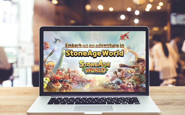 Stoneage World HD Wallpapers Game Theme