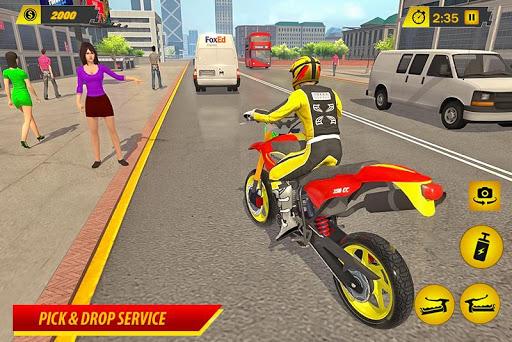 Moto Bike Taxi Simulator: Bike Driving Games 1.0 screenshots 1