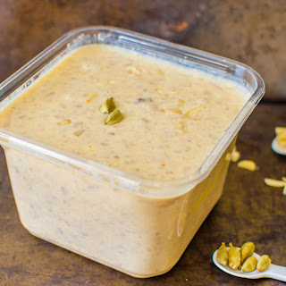 Dates and Nuts Kheer / Sugar Free Dessert