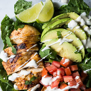 Chili Lime Chicken Salad