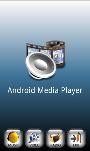 Android Media Player screenshot 1