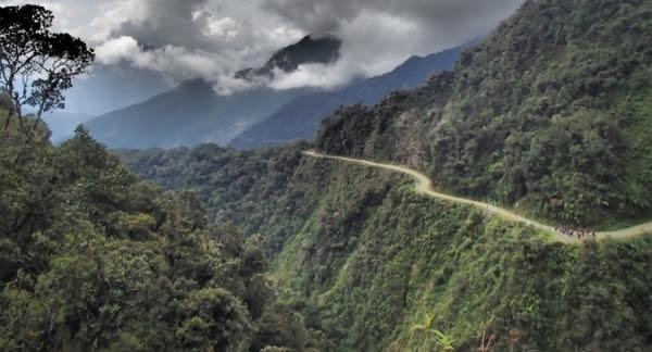 La Paz - Caminho a Los Yungas