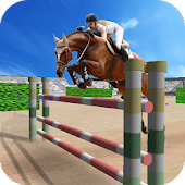Jumping Horse Racing Simulator