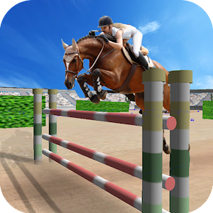 Jumping Horse Racing Simulator for PC and MAC
